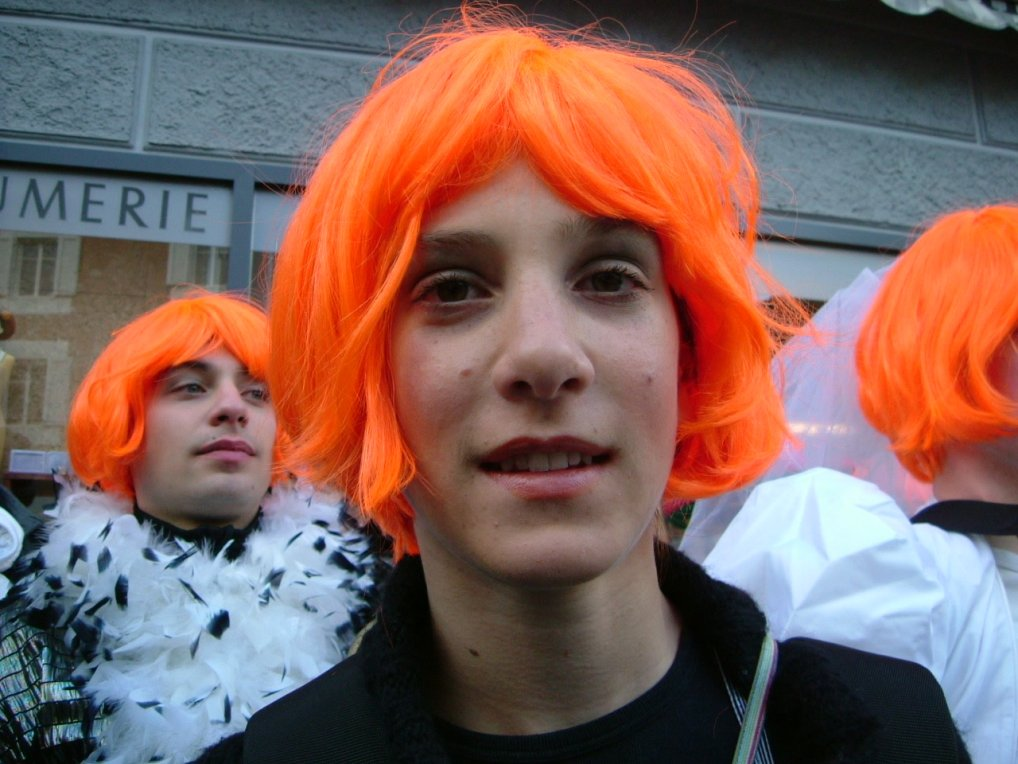 Verkleidet mann als karneval frau Karneval: Als